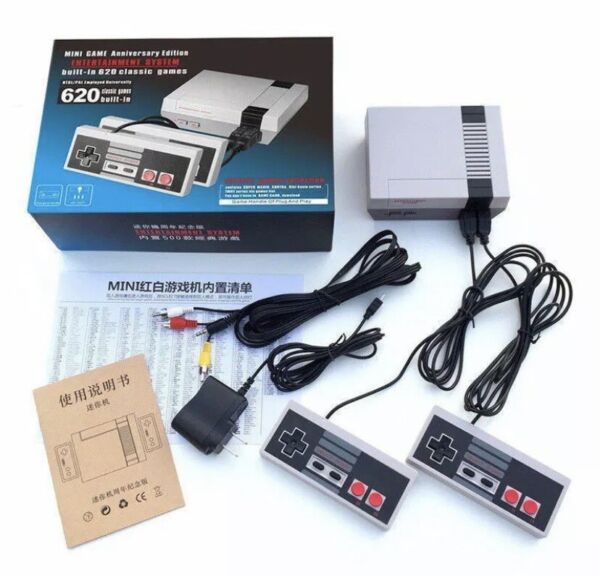 Nintendo NES Style Mini Classic with 620 Games Console BRAND NEW FREE SHIP NOW $23.95