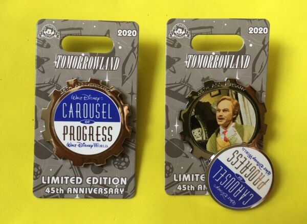 Disney CAROUSEL OF PROGRESS 45th Anniversary Tomorrowland Pin LE 2000