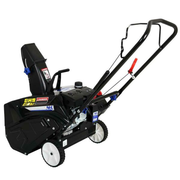 AAVIX AGT1420 20 in. 87cc Single Stage Recoil Start Gas Snow Blower
