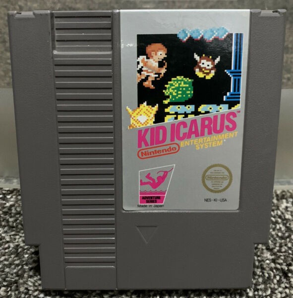 Kid Icarus NES Nintendo Game Cartridge Only *Authentic* Cleaned amp; Tested