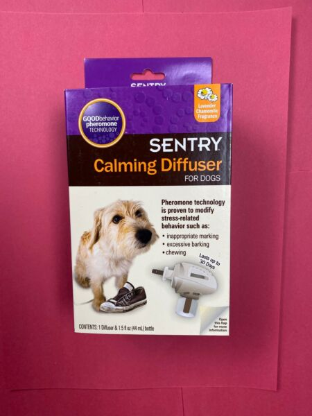 Sentry Calming Plug in Diffuser for Dogs 1.5 oz bottle lasts 30 days $13.97