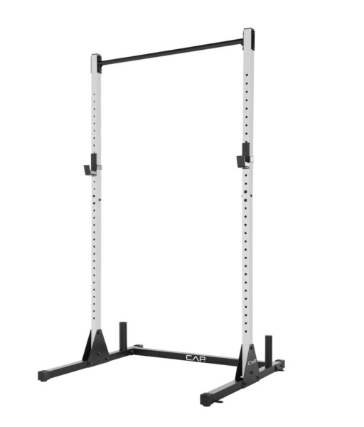 BRAND NEW CAP Barbell Power Rack Exercise Stand White IN HAND $149.00