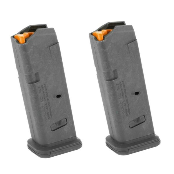 Glock 19 Magazine 10 Round Magpul GL9 MAG907 fits Polymer80 2 pack CA legal