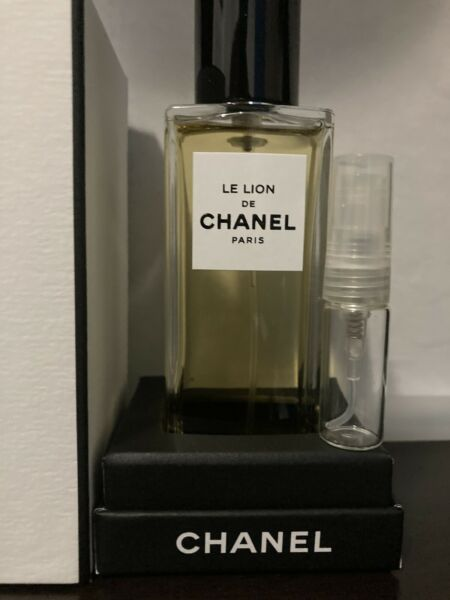 Chanel Le Lion 3ml Glass Spray Atomizer $20.99