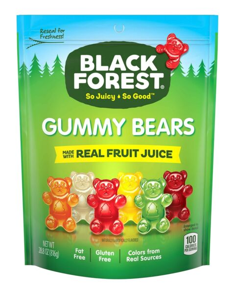 Black Forest Gummy Bears Candy 28.8 Ounce Pack of 1 28.8 Ounce Pack of 1