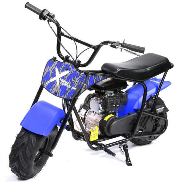 Pro Series 80cc Mini Dirt Bike Gas Power 4 Stroke Pocket Bike Motorcycle Blue $459.95