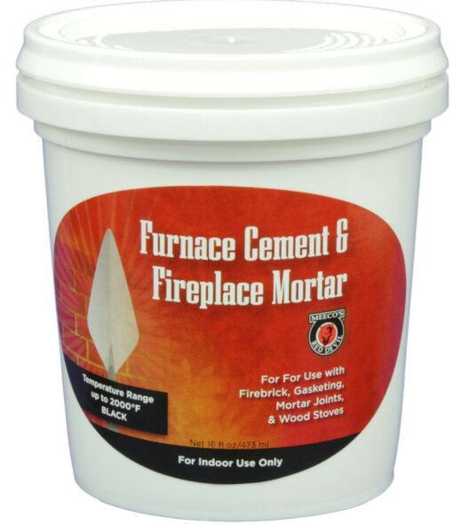 MEECO#x27;S RED DEVIL 1353 Furnace Cement and Fireplace Mortar $17.43