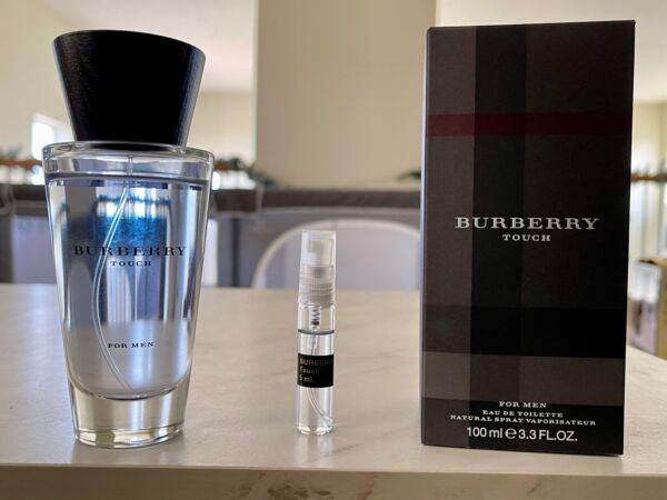 Burberry Touch for Men 5 mL decant $7.99