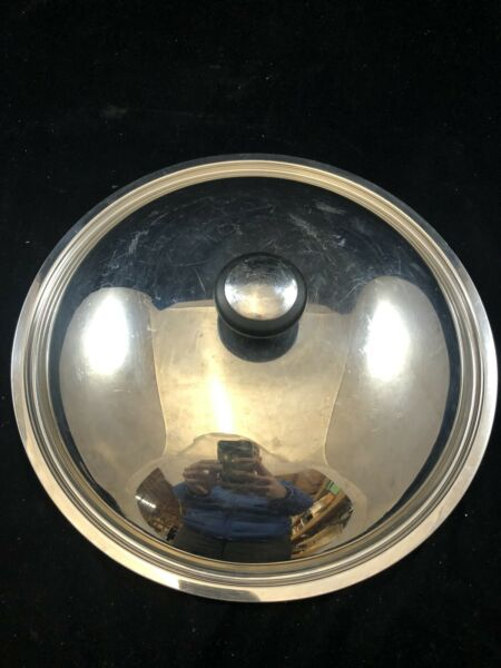 FARBERWARE 12quot; STAINLESS COVER LID