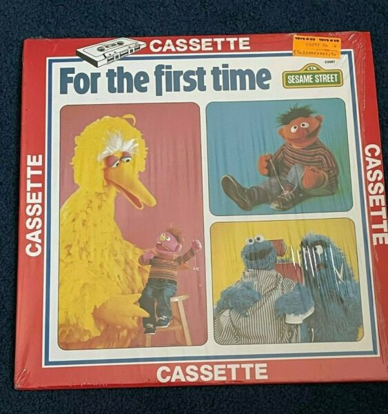 Vintage SESAME STREET quot;For the First Timequot; Album Cover Only went w cassette $1.99
