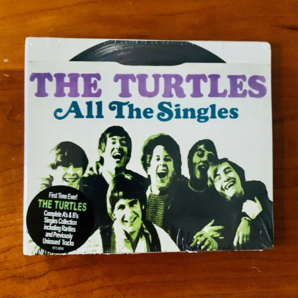 The Turtles All The Singles Double CD NEW SEALED