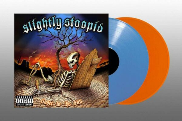 Slightly Stoopid Closer To The Sun 2 x LP Colored Vinyl Album REGGAE RECORD