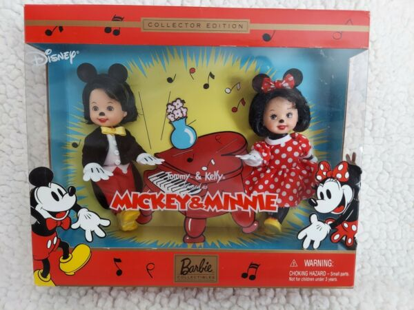 Disney Collector Edition Tommy And Kelly As Mickey And Minnie 2002 $19.99