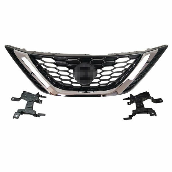 For Nissan Sentra 2016 2017 2018 Front Bumper Upper Chrome Grill ABS Chrome