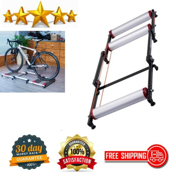 Bike Trainer Adjustable Indoor Stand Folding Cycling Bicycle Roller Exercise Gym $123.67
