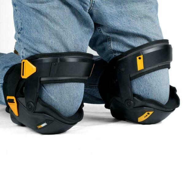 Black Thigh Support Stabilization Knee Pads Protection Floor DIY Bike Outdoor $150.98