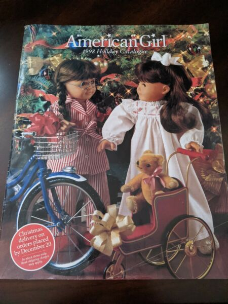 Pleasant Company The American Girls Collection Holiday 1998 Catalog Catalogue