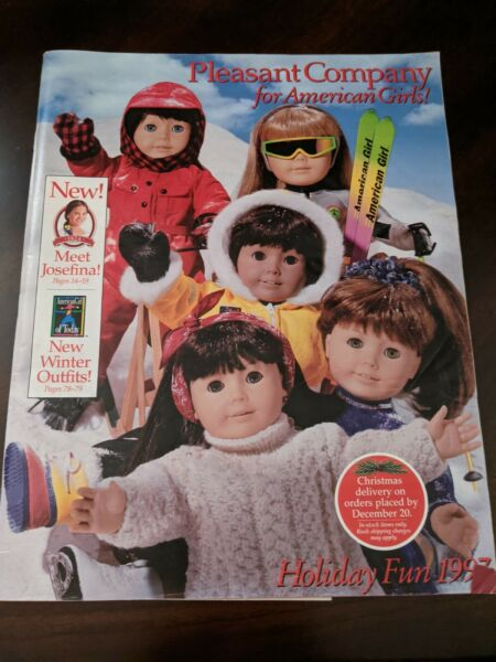 Pleasant Company For American Girls Holiday Fun 1997 Catalog Catalogue