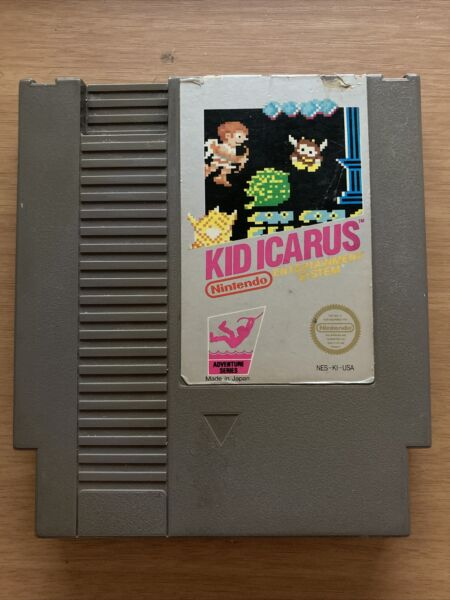 Kid Icarus Nintendo Entertainment System NES 1987 Authentic Cart Only