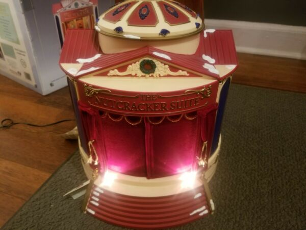 Vintage Mr. Christmas The Nutcracker Suite Music Carousel Beautiful PLEASE READ