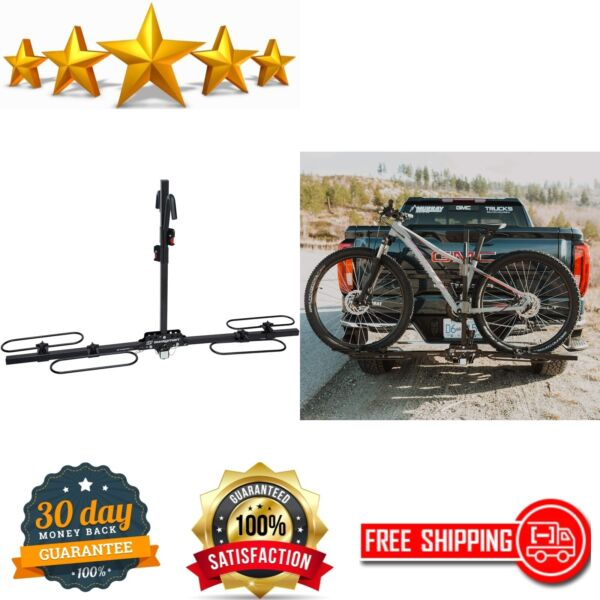 Bike Rack For Car 2 Bicycles Hanging Mount Suv Bicycle Hitch Trunk Mountain Bike $178.06