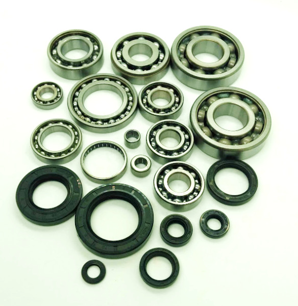 TRX250R Engine Main Crank Transmission Bearings amp; Seals Kit Complete 86 87 88 89