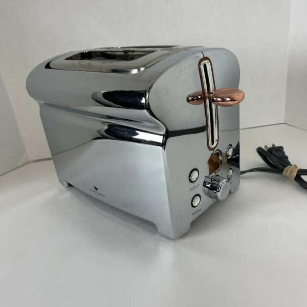 Michael Graves 2 Slice Toaster Stainless Steel Finish KT 3390 Modern Retro