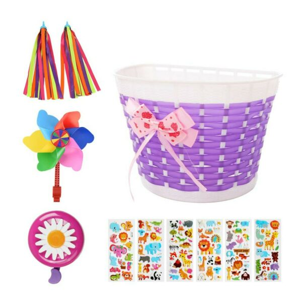 BAPHILE Bike Accessories for Kids Girls Bike Bicycle Decorations Including Pu... $15.28