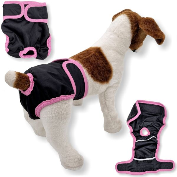 LEAK PROOF Female Dog Diapers Period Pants Washable Puppy Cat Small Large Pet $10.99