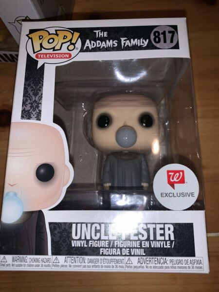 Uncle Fester The Addams Family Funko Pop Walgreens Exclusive 817