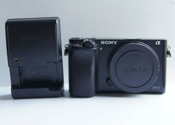 Sony a6000 24.3MP Body Only 858 Clicks Mirrorless Digital Camera