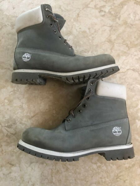 Timberland Boots Waterproof Sand Beige Men US Size 11.5M $87.00