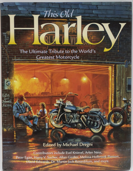 This Old Harley Harley Davidson World#x27;s Greatest Motorcycle Hard Cover Book $5.99