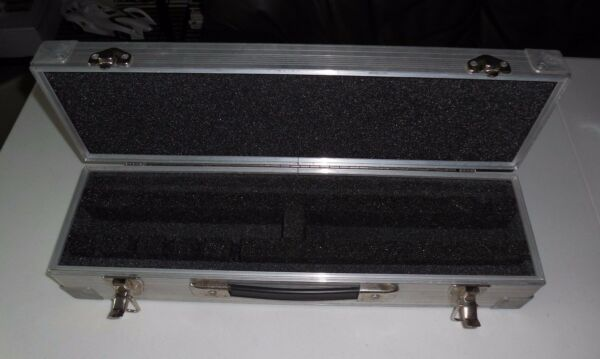 Musician Roady Travel Case INDESTRUCTIBLE for Microphones Custom Made $39.99