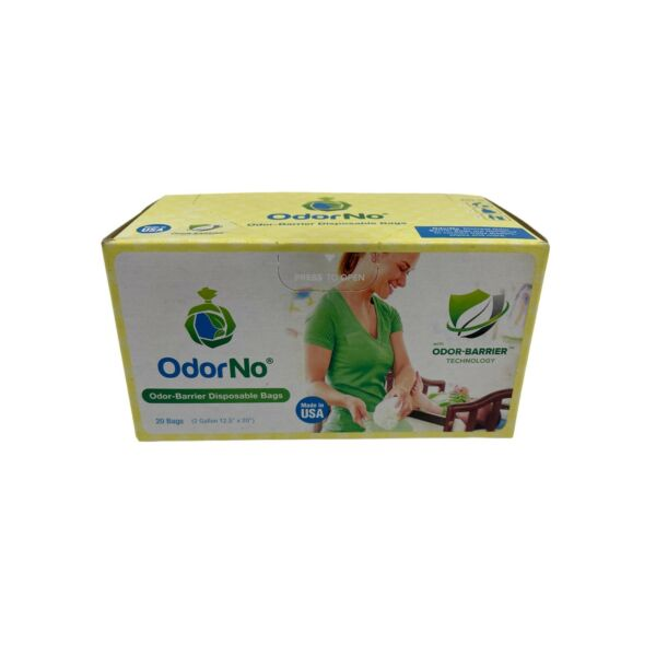 20ct OdorNo Diaper Disposable Bags With Odor Barrier Chemical Free Unscented $6.01