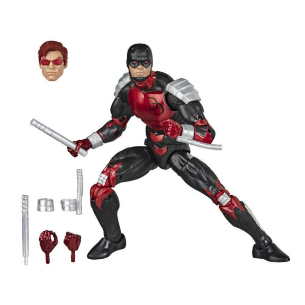 Hasbro Marvel Legends Series Spider Man 6 inch Collectible Daredevil Action