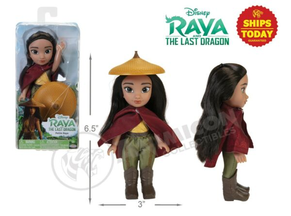 Disney Raya and the Last Dragon PETITE RAYA with CAPE amp; HAT 6quot; DOLL NEW NIB 2021