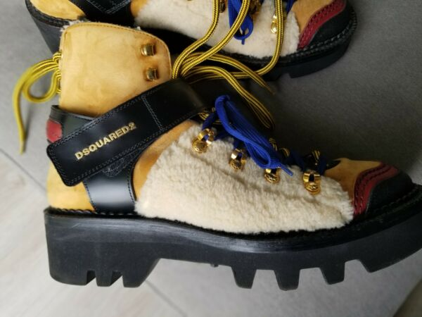 dsquared2 mens boots Size 9 mens  42 $300.00