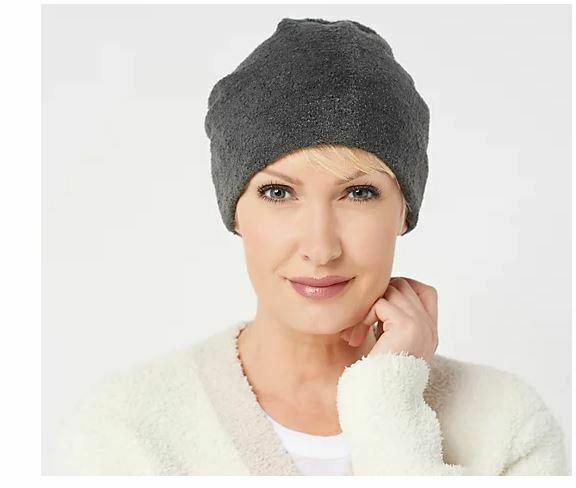 Barefoot Dreams CozyChic Beanie Carbon Hat NEW One Size $29.99