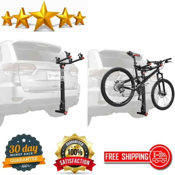 Allen Sports 2 Bike Hitch Racks For 1 amp; 1 4 inch And 2 inch Hitch Deluxe Locking $77.59