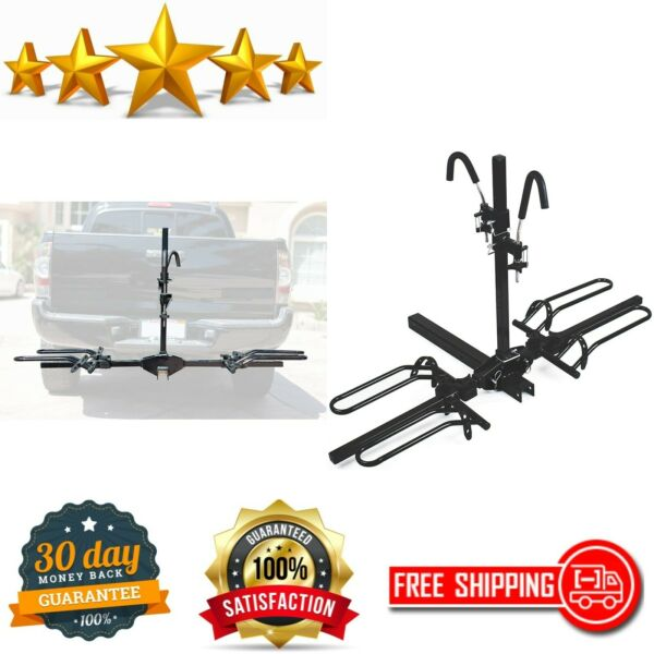 Mountain Bike Fat Tire Bicycle Adjustable Hitch Rack Universal amp; Folds Carrier $119.70