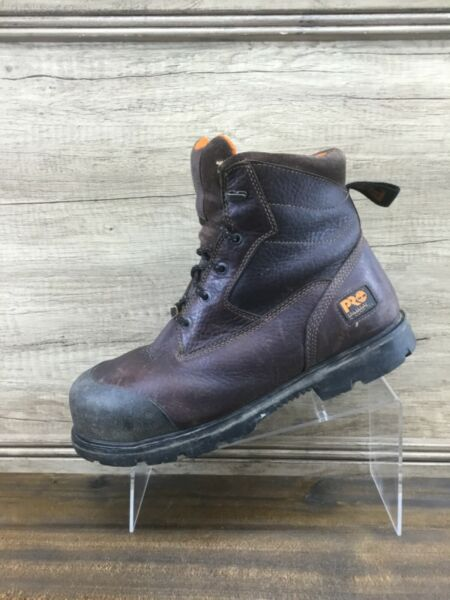 Timberland Pro Mens Composite Safety Toe Boots Mens Size 11W Wide $62.55