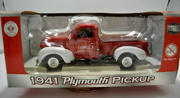 Rare Collectible Diecast 1 24 Scale Lennox 1941 PLYMOUTH PICKUP Truck 2008 $34.99