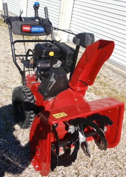 Power Max HD 828 OAE 28 in. 252 cc Two Stage Gas Snow Blower with Electric Start