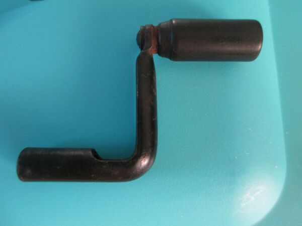 VINTAGE ANTIQUE TELEPHONE WOOD WALL CRANK HANDLE PART