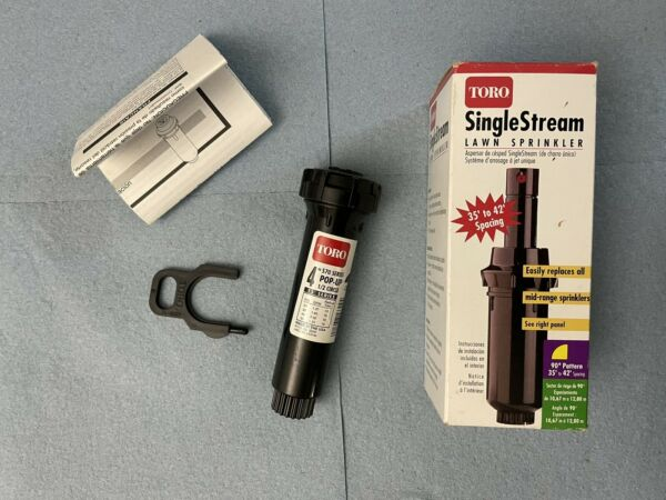 TORO SINGLE STREAM LAWN SPRINKLER 90 DEGREE PATTERN MODEL 53309
