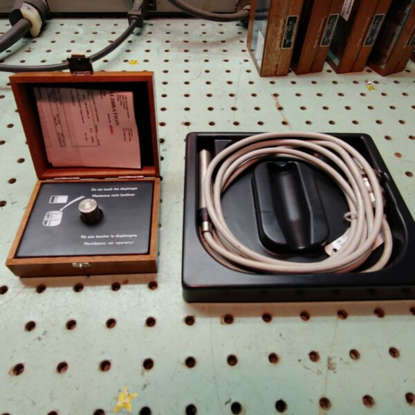 LEGACY Bamp;K Bruel and Kjaer 4165 MICROPHONE CAPSULE AND 1.5M PREAMP CABLE