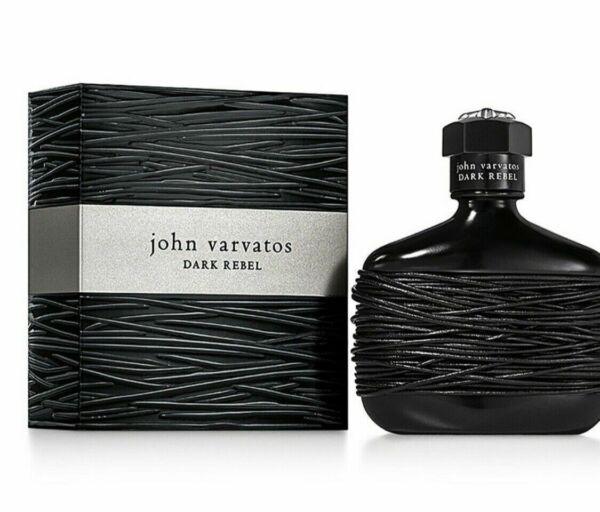 John Varvatos Dark Rebel 2.5oz 75ml Eau de Toilette Spray New in Box