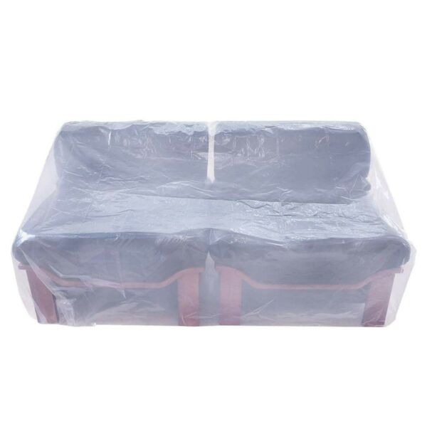 Plastic Couch CoverWaterproof Sofa CoverGarden Furniture Protector for Movi... $18.81