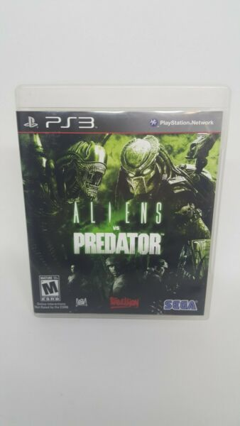 Aliens vs Predator PlayStation 3 PS3 CIB COMPLETE TESTED FREE SHIPPING